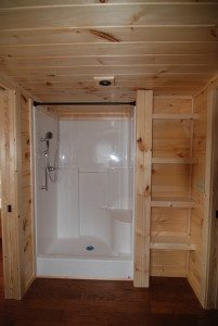 48 INCH SHOWER WITH SEAT $83.00