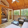 Cabin with covered deck
